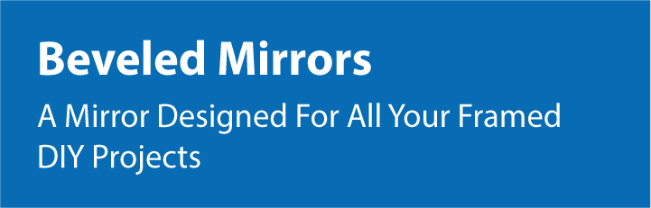 A Mirror Designed For All Your Framed DIY Projects