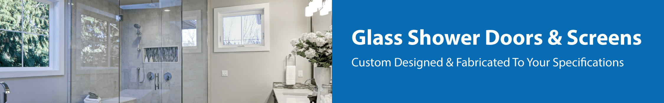 glass shower doors and screens