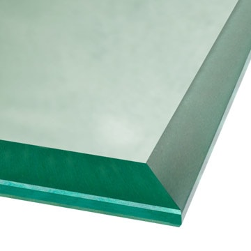 beveled glass edge