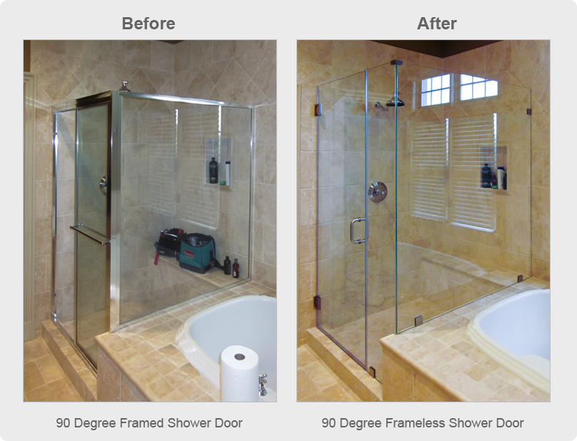 Frameless Shower Doors Why Go Frameless Dulles Glass And Mirror