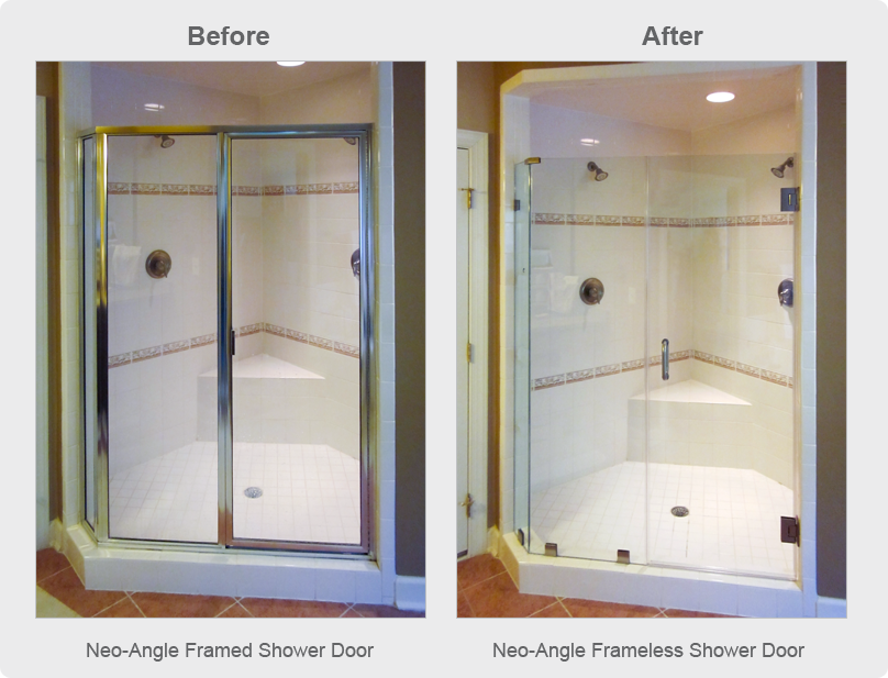 Glass Shower Doors & Enclosures | Dulles Glass & Mirror | Dulles ...