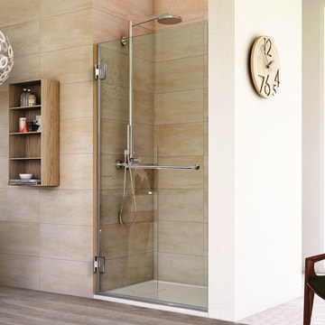 Frameless Shower Doors Custom Glass Enclosures And Shower Doors - Seamless bathroom shower doors