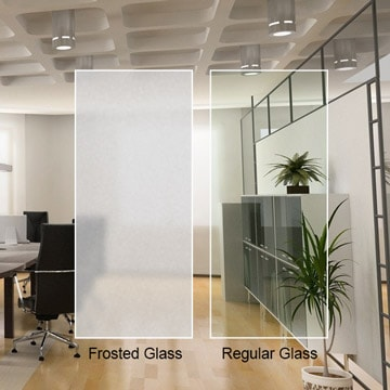 Frosted Glass Custom Cut Dulles Glass And Mirror