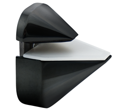 Black Adjustable Shelf Bracket