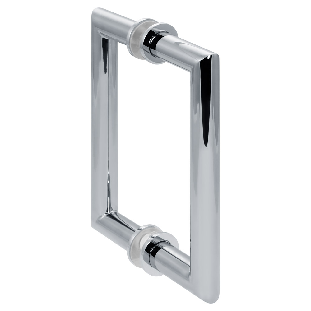 "6"" Mitered Shower Door Handle - Polished Chrome"