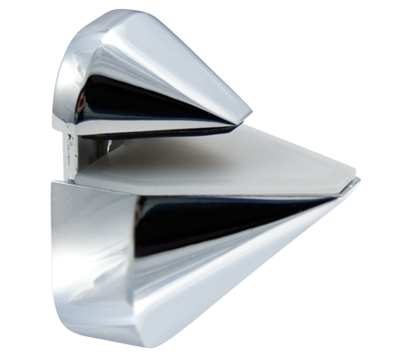 Chrome Adjustable Shelf Bracket