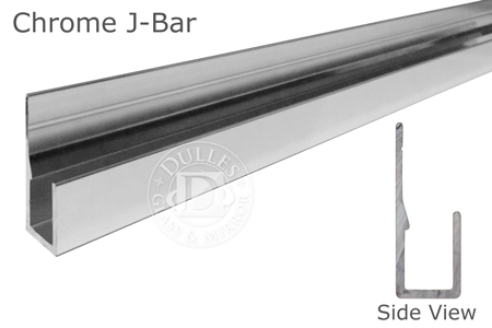 "95"" Chrome Deep J-Bar"