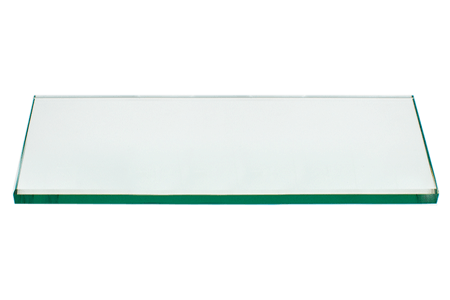 24x36 Inch Rectangle Glass Table Top, 1/4 Inch Thick, Flat Polished Edge, Eased Corners, Tempered