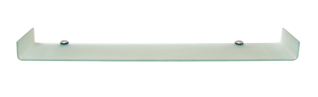 Ulani Series Glass Shelf: Frosted Glass