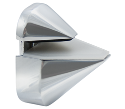 Satin Chrome Adjustable Shelf Bracket