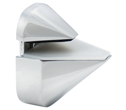 White Adjustable Shelf Bracket
