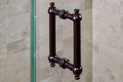 Oil Rubbed Bronze Hera Handles 6 x 6