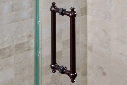 Oil Rubbed Bronze Hera Handles 8 x 8