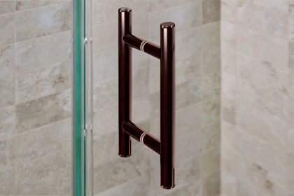 Oil Rubbed Bronze Ladder Handles 6 x 6