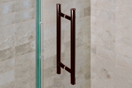 Oil Rubbed Bronze Ladder Handles 8 x 8