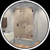 Prima Door and Panel Shower Door