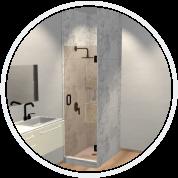 Solo Single Shower Door