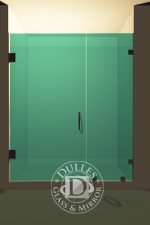 Inline Frameless Shower Doors