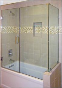 Corner Shower Door #65