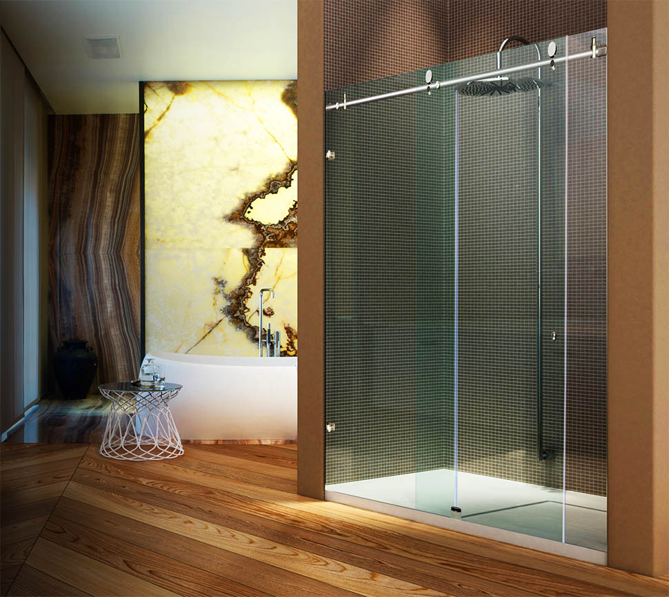 Bathroom Sliding Glass Doors: Metro Sliding Shower And Tub Doors