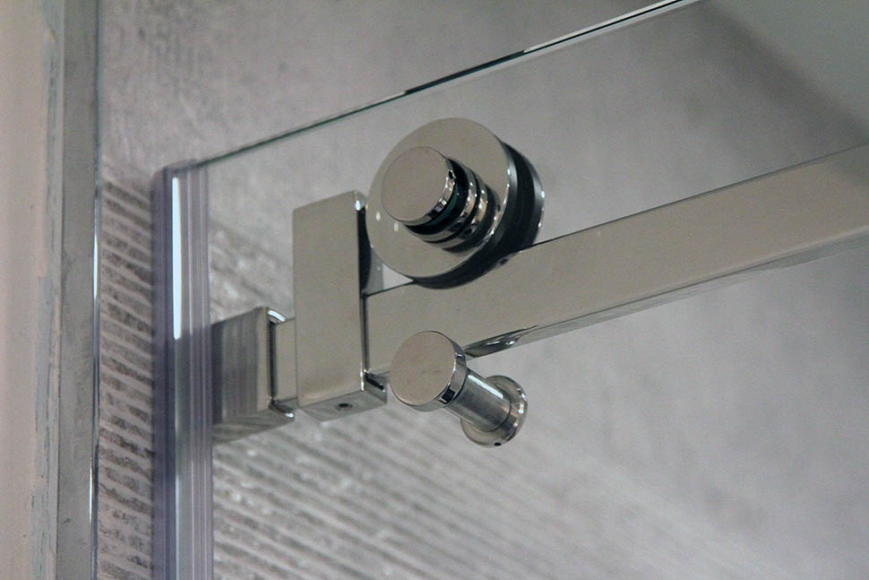 quadro sliding shower door hardware - Glass Shower Door Hardware