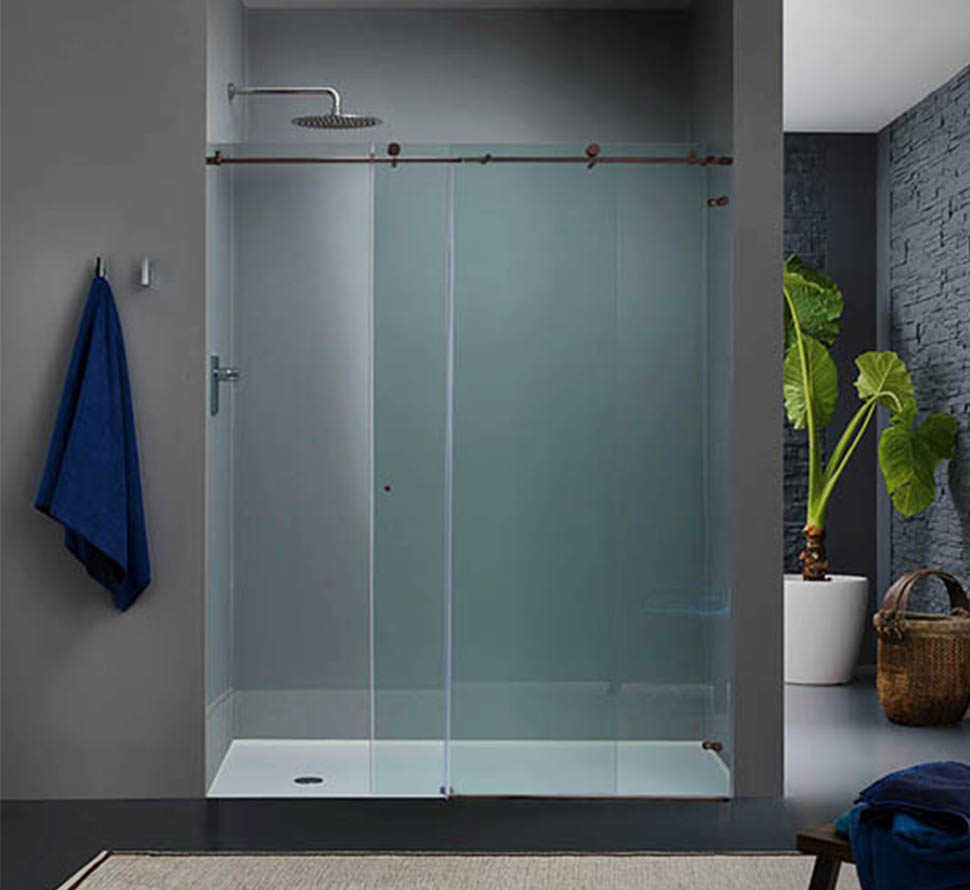 Custom Sliding Glass Shower Doors Dulles Glass And Mirror