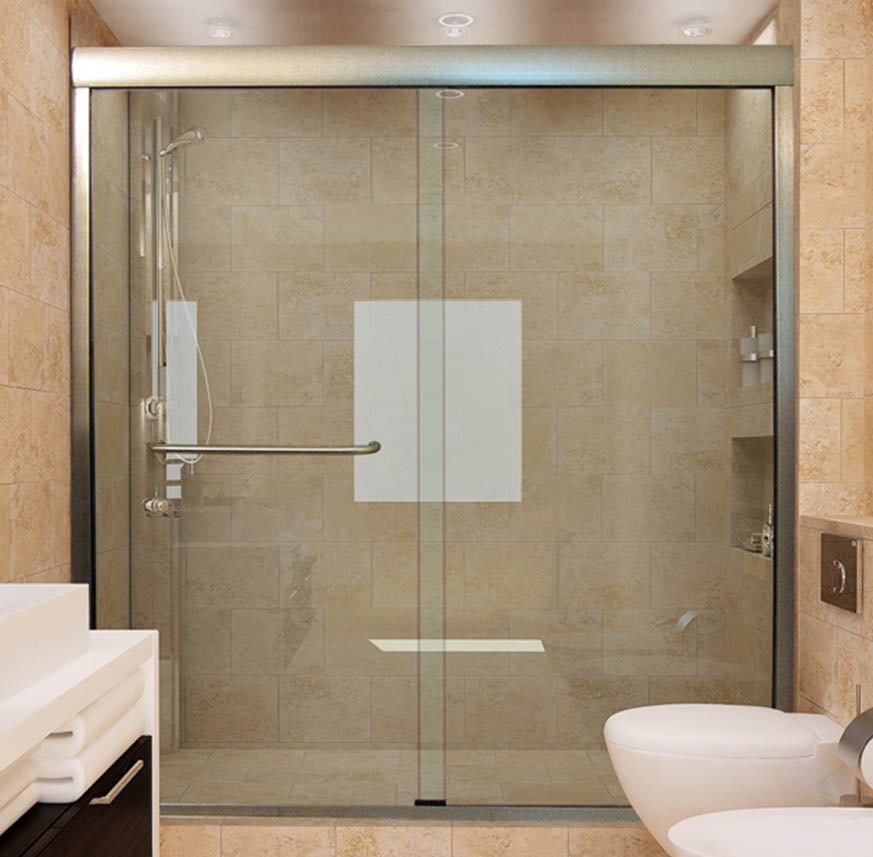 Sliding Shower Doors | Custom Sliding Doors for Showers and Bathtubs ...