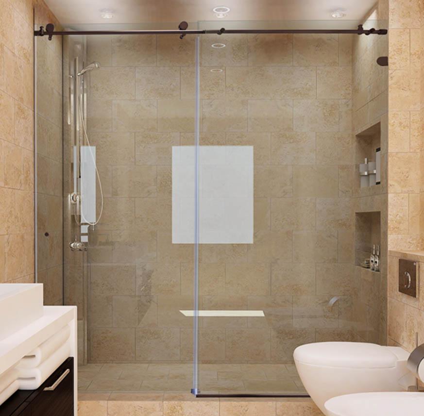 Custom Sliding Glass Shower Doors Dulles Glass And Mirror
