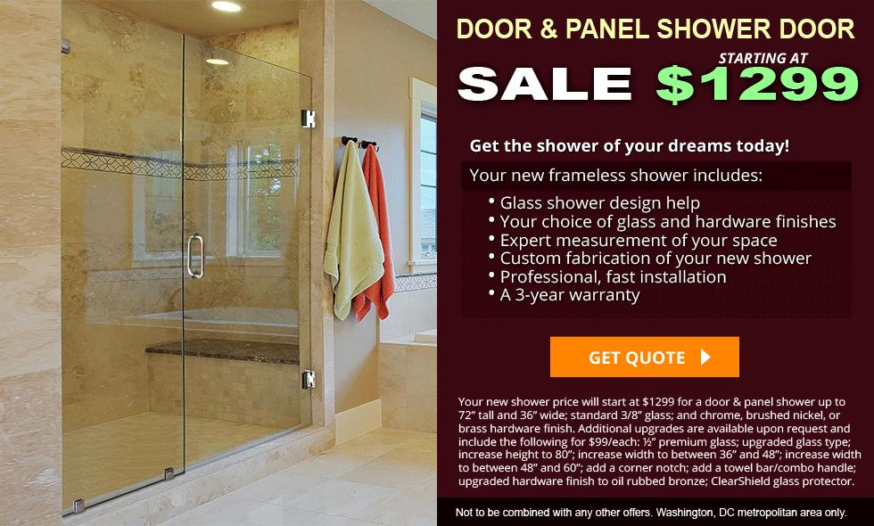 Request Quote Inline Shower Door